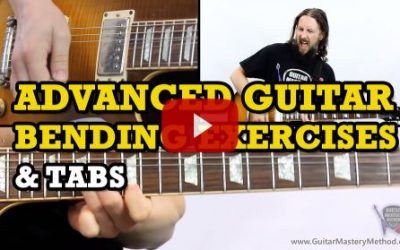 Advanced Guitar Bending Exercises