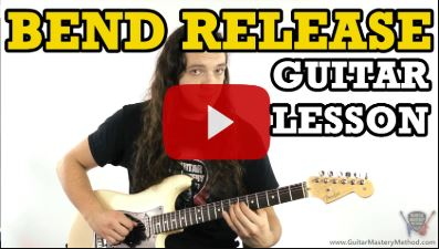 Guitar Bend Release – Technique Lesson
