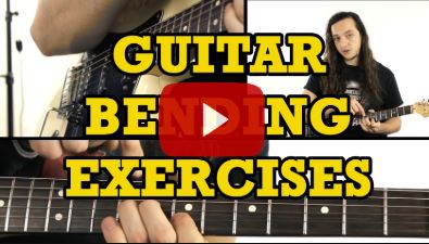 Guitar Bending Exercises