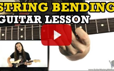 Guitar Bending – How To String Bend On The Guitar
