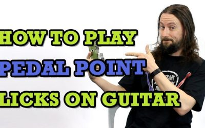 How To Play Pedal Point Licks On Guitar