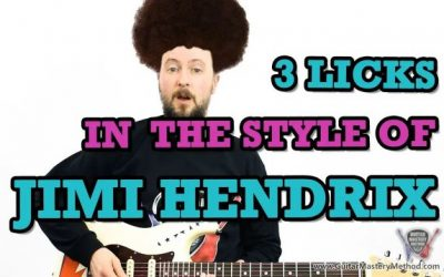 3 Licks In The Style Of Jimi Hendrix