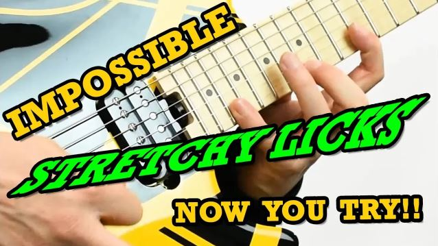 Impossible Stretchy Licks (Now You TRY!)