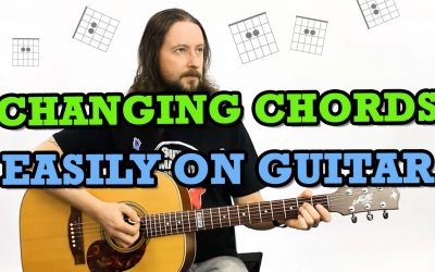 Changing Chords Easily On Guitar