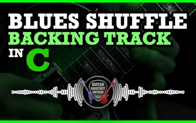 Blues Shuffle Backing Track in C