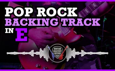 Backing Track – Pop Rock In E Major
