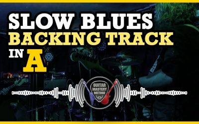Backing Track – Slow Blues In A