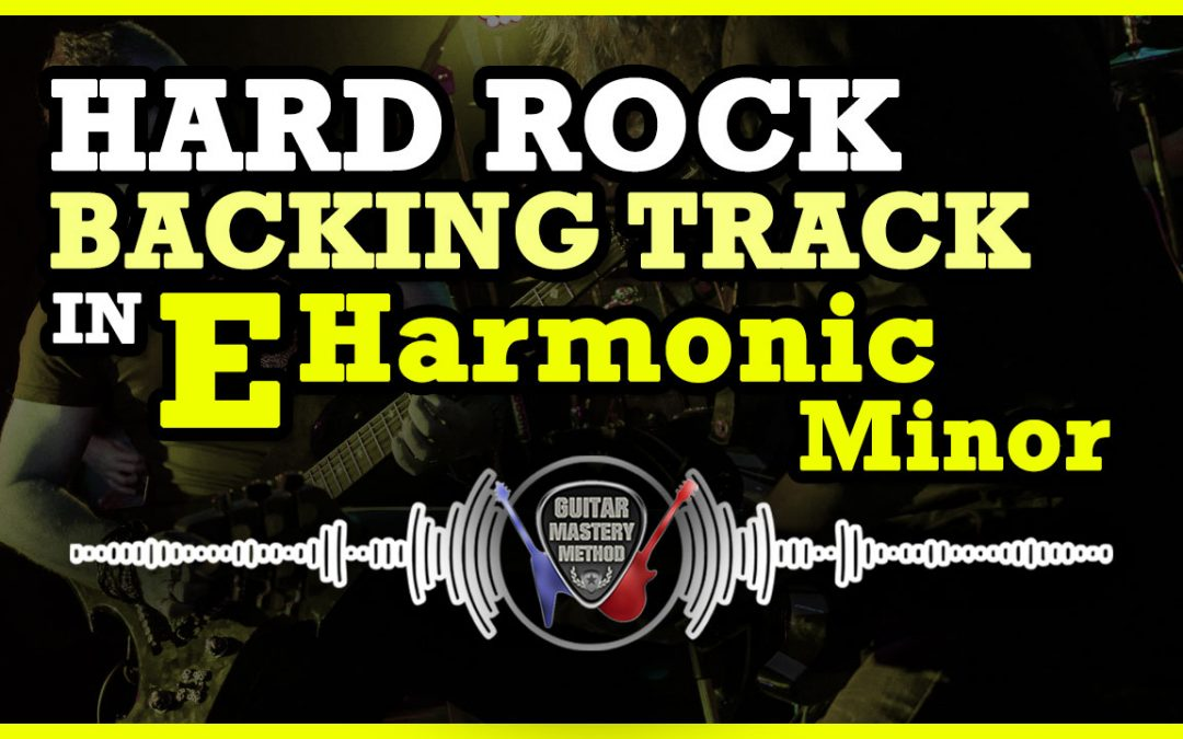 Backing Track – Rock In E Harmonic Minor