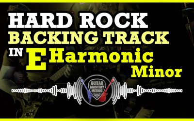 Backing Track – Rock In E Harmonic Minor