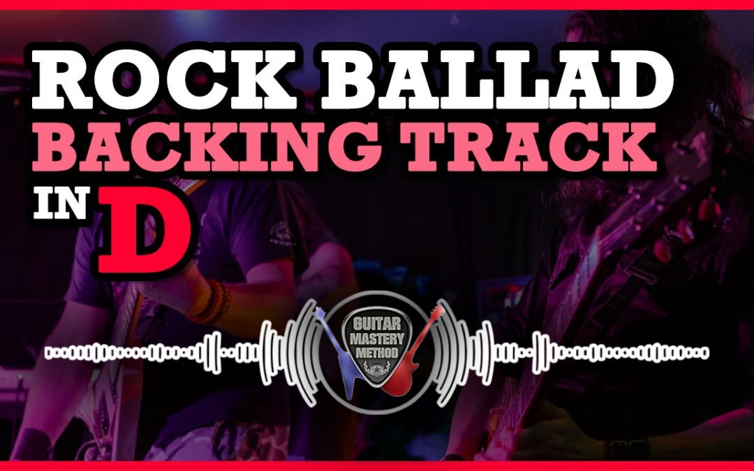 Backing Track – Rock Ballad In D