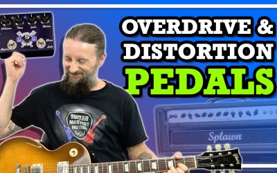 How To Use An Overdrive Pedal Or Distortion Effects Pedal For Guitar