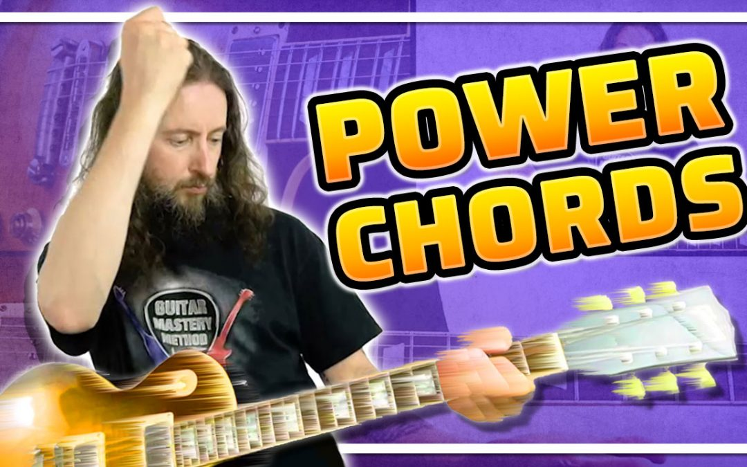 Make Your Rhythm Guitar Playing Rock With Power Chords