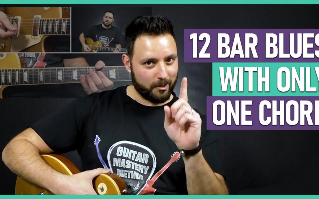 12 Bar Blues ONE Chord