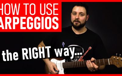 SLICK Way To Use Guitar Arpeggios