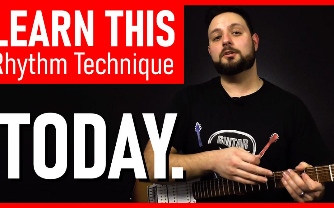 The MOST Important Rhythm Guitar Technique