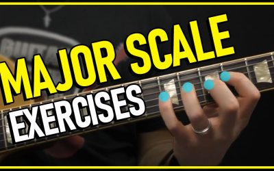 MAJOR Scales Guitar Workout | Guitar Major Scales Pattern Lesson