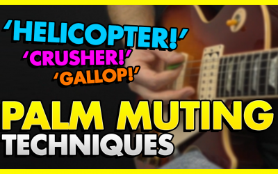 Palm Muting Guitar Techniques You Should Know!
