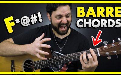 F Bar Chord Tips – Guitar Bar Chords Lesson