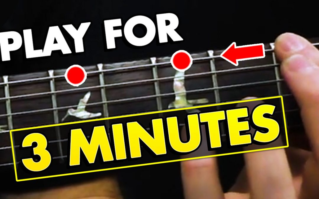 Play This Simple Riff For 3 Minutes