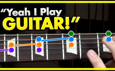 The Yeah I Play Guitar Lick