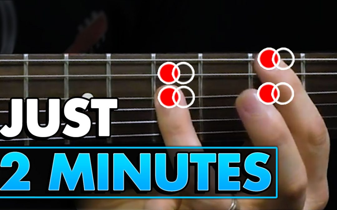 Play This Blues Riff For Just 2 Minutes A Day