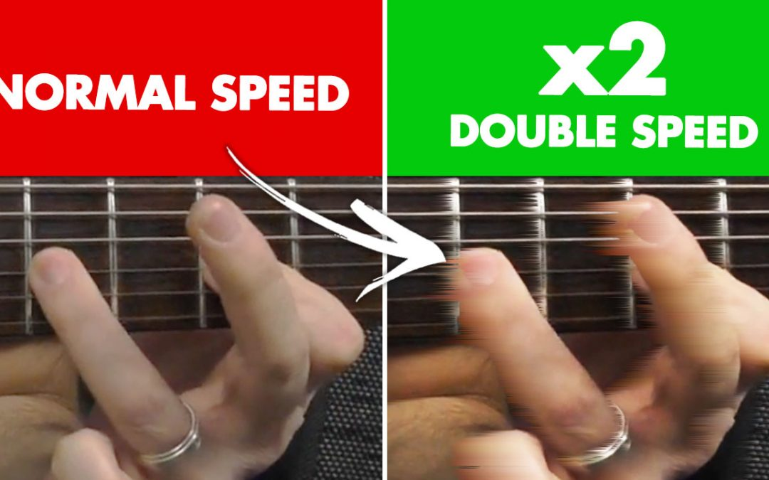 How To DOUBLE Your Speed and Sound GREAT Doing It