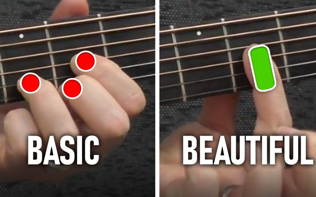Beautiful Chords VS Basic Chords (One Simple Step!)