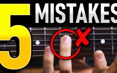 5 Mistakes You Are Making As A Guitarist